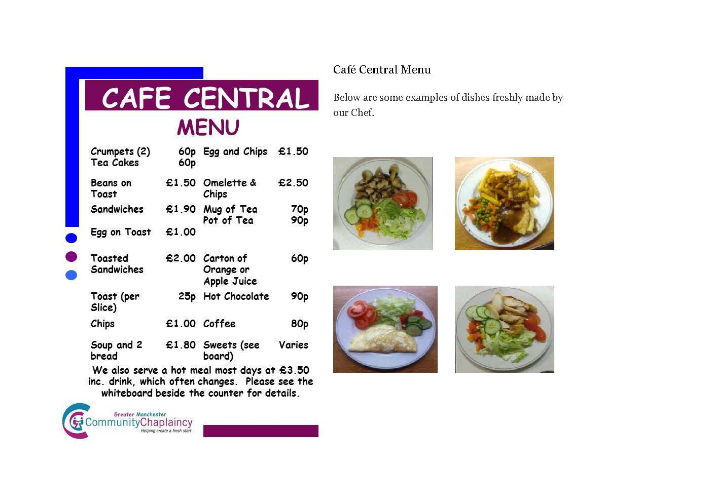 Cafe for website
